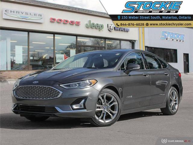 2019 Ford Fusion Hybrid Titanium (Stk: 34645) in Waterloo - Image 1 of 27