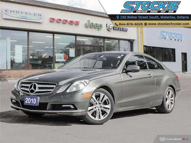 2010 Mercedes-Benz E-Class Base (Stk: 34713) in Waterloo - Image 1 of 27