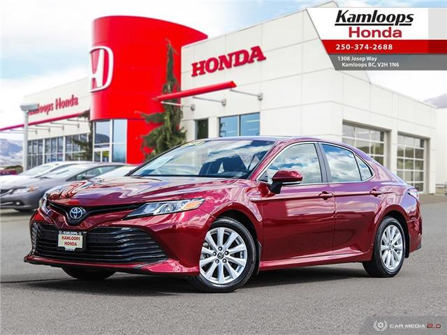 2018 Toyota Camry Hybrid LE (Stk: 15016A) in Kamloops - Image 1 of 25