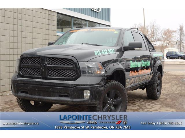 2018 RAM 1500 SLT (Stk: 18376) in Pembroke - Image 1 of 23