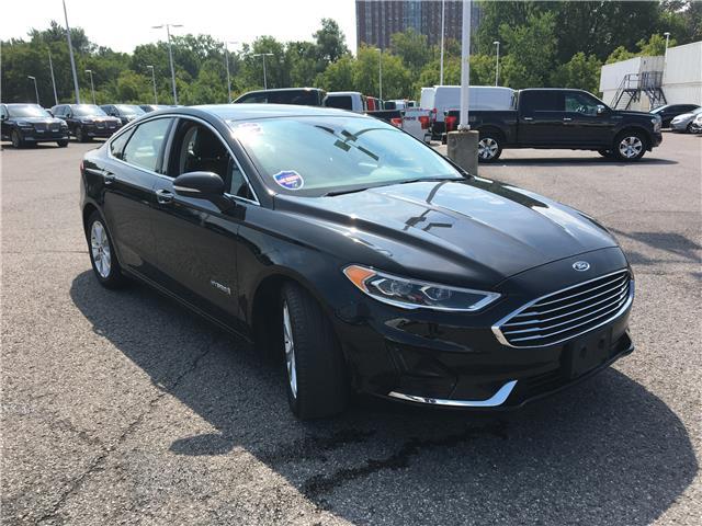 2019 Ford Fusion Hybrid SEL (Stk: PLDUR6527) in Ottawa - Image 1 of 29