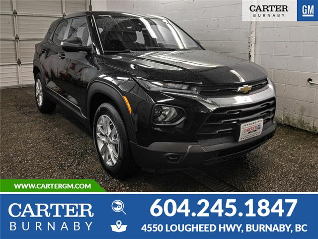 2021 Chevrolet TrailBlazer LS (Stk: X1-5390T) in Burnaby - Image 1 of 13