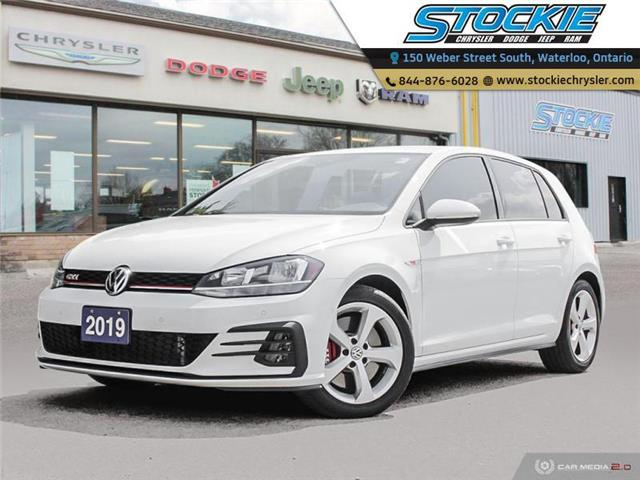 2019 Volkswagen Golf GTI Autobahn (Stk: 34745) in Waterloo - Image 1 of 27