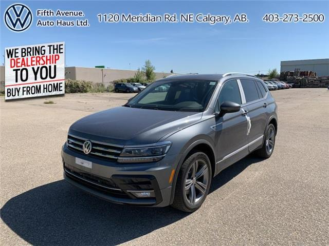 2020 Volkswagen Tiguan Highline (Stk: 20140) in Calgary - Image 1 of 30