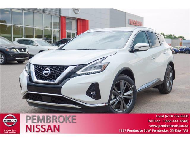 2020 Nissan Murano Platinum (Stk: 20165) in Pembroke - Image 1 of 30
