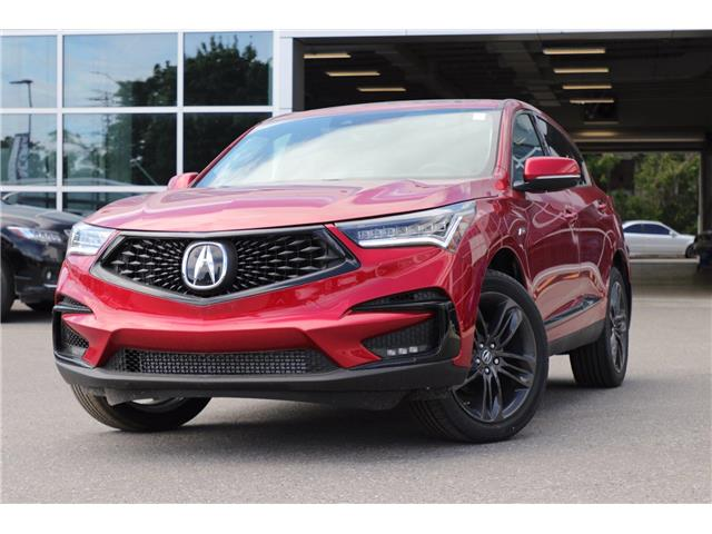 2021 Acura RDX A-Spec (Stk: 19317) in Ottawa - Image 1 of 30