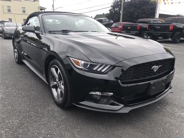 2016 Ford Mustang EcoBoost Premium (Stk: 20190A) in Cornwall - Image 1 of 28