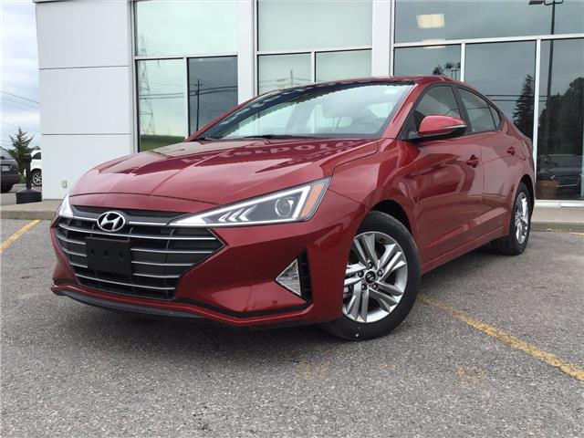 2020 Hyundai Elantra Preferred w/Sun & Safety Package (Stk: H12560) in Peterborough - Image 1 of 18