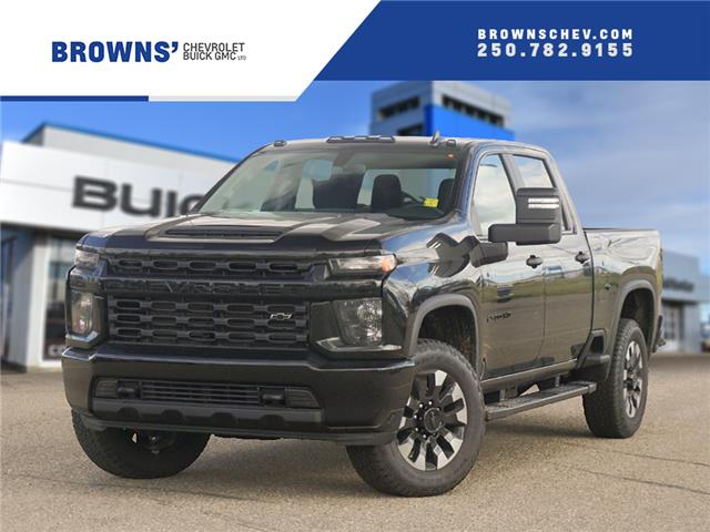 2020 Chevrolet Silverado 2500HD Custom (Stk: T20-1452) in Dawson Creek - Image 1 of 15