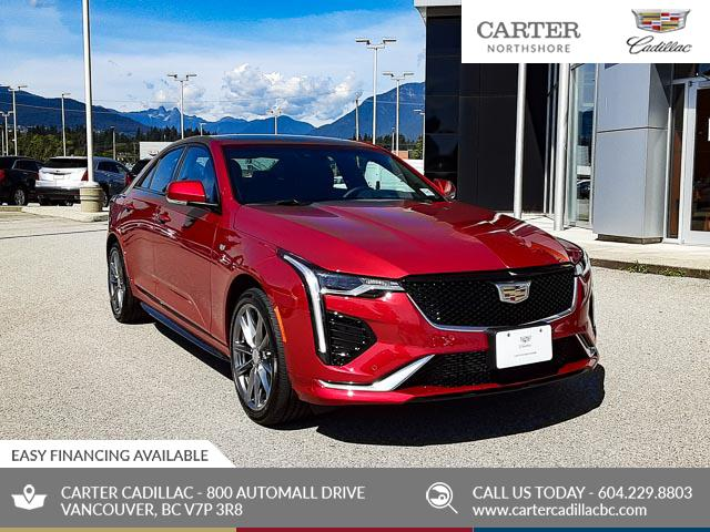 2020 Cadillac CT4 Sport (Stk: D04090) in North Vancouver - Image 1 of 24
