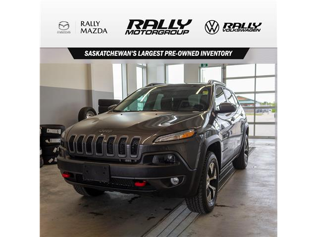 2018 Jeep Cherokee Trailhawk (Stk: V1286) in Prince Albert - Image 1 of 15