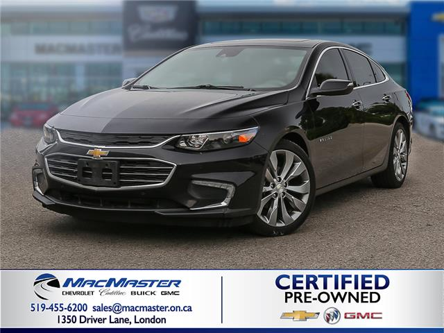 2017 Chevrolet Malibu Premier (Stk: 205133A) in London - Image 1 of 10