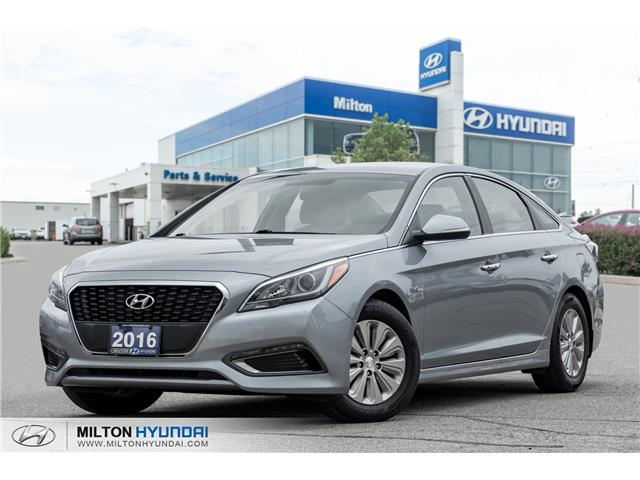 2016 Hyundai Sonata Hybrid Base (Stk: 011119A) in Milton - Image 1 of 19