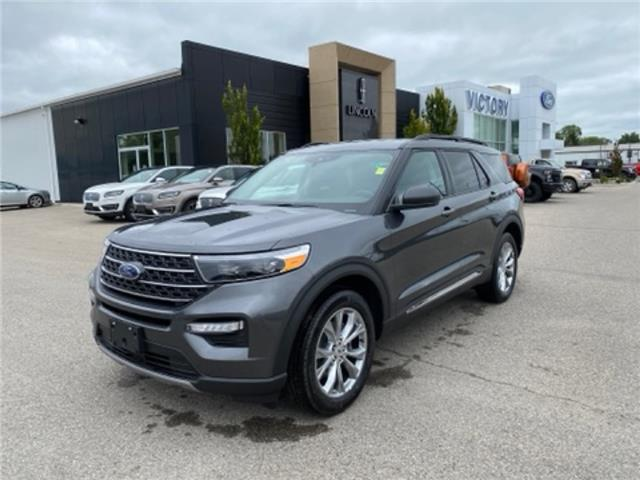 2020 Ford Explorer XLT (Stk: VEX19606) in Chatham - Image 1 of 17