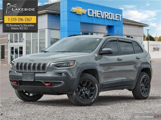 2019 Jeep Cherokee Trailhawk (Stk: P6243) in Kincardine - Image 1 of 27