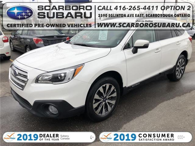 2016 Subaru Outback 2.5i Limited Package (Stk: G3285365) in Scarborough - Image 1 of 24