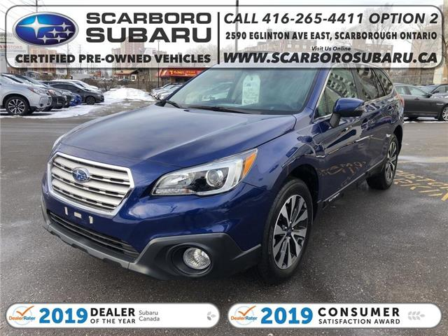 2016 Subaru Outback  (Stk: G3263760) in Scarborough - Image 1 of 19