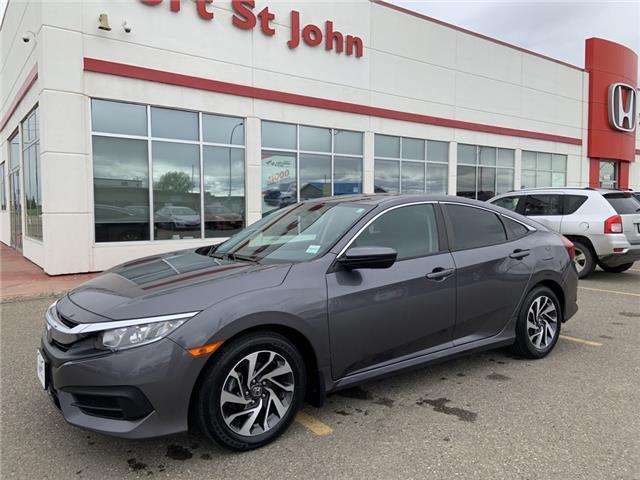 2016 Honda Civic EX (Stk: U1169) in Fort St. John - Image 1 of 20