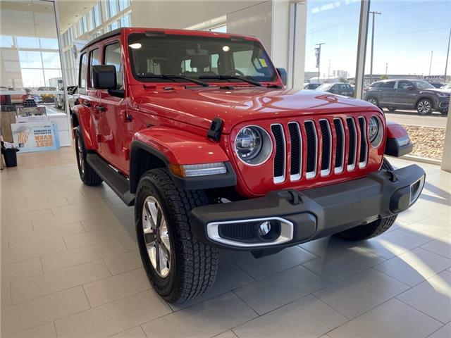 2019 Jeep Wrangler Unlimited Sahara (Stk: 70063A) in Saskatoon - Image 1 of 21