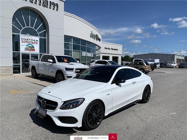 2018 Mercedes-Benz AMG C 43 Base (Stk: U04625) in Chatham - Image 1 of 22