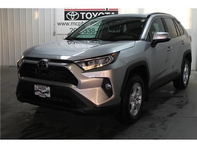 2020 Toyota RAV4 XLE (Stk: C125636) in Winnipeg - Image 1 of 24