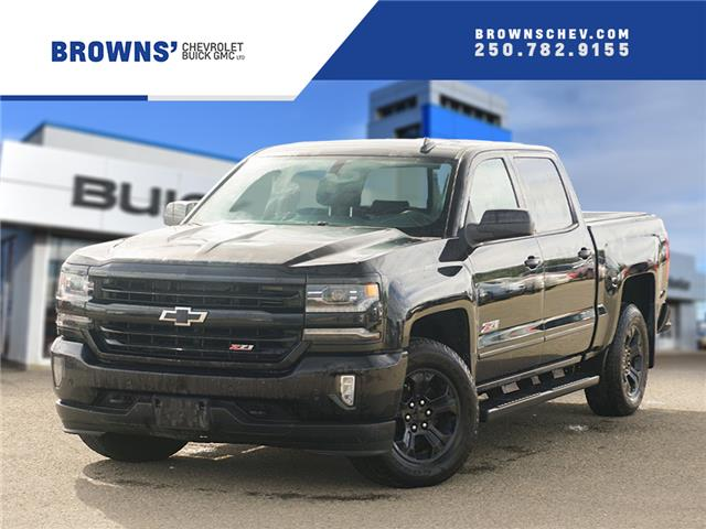 2018 Chevrolet Silverado 1500 2LZ (Stk: 4515A) in Dawson Creek - Image 1 of 14