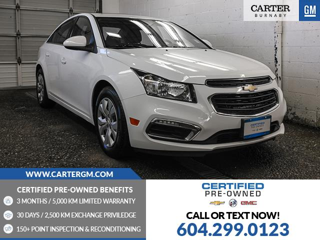 2016 Chevrolet Cruze Limited 1LT (Stk: K0-78891) in Burnaby - Image 1 of 24