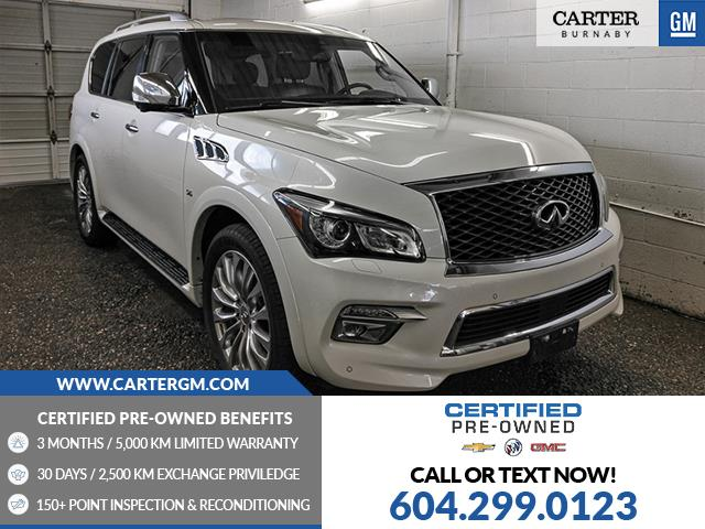 2017 Infiniti QX80 Base 8 Passenger (Stk: 97-48581) in Burnaby - Image 1 of 25