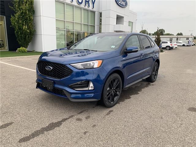 2020 Ford Edge ST Line (Stk: VEG19813) in Chatham - Image 1 of 14