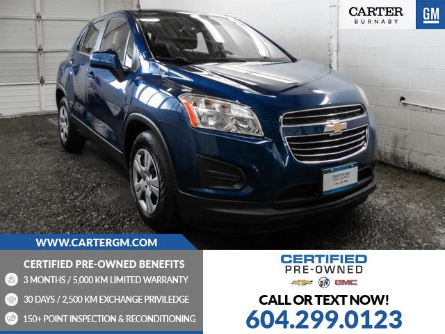 2016 Chevrolet Trax LS (Stk: Q0-36411) in Burnaby - Image 1 of 21