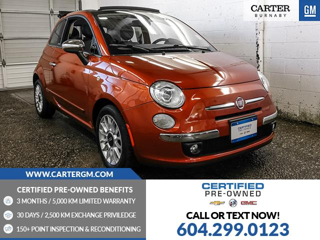 2012 Fiat 500C Lounge (Stk: T0-67491) in Burnaby - Image 1 of 20