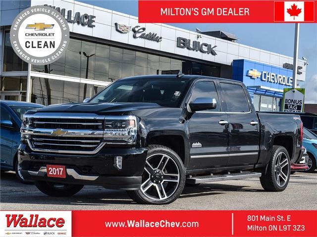 2017 Chevrolet Silverado 1500 CREW | HIGH COUNTRY | SHORT BOX | NAVI | SUNROOF (Stk: 136820A) in Milton - Image 1 of 19