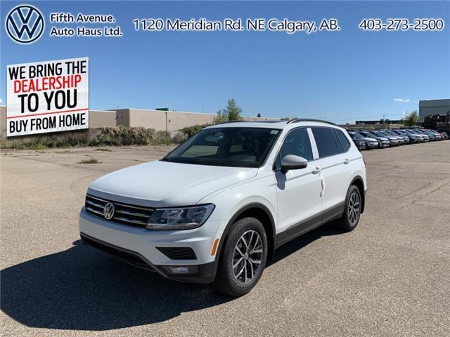 2020 Volkswagen Tiguan Comfortline (Stk: 20147) in Calgary - Image 1 of 28