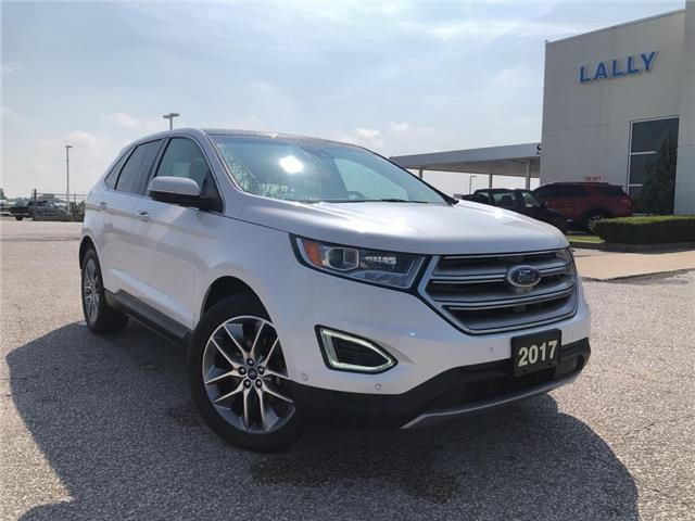 2017 Ford Edge Titanium (Stk: S10531R) in Leamington - Image 1 of 23