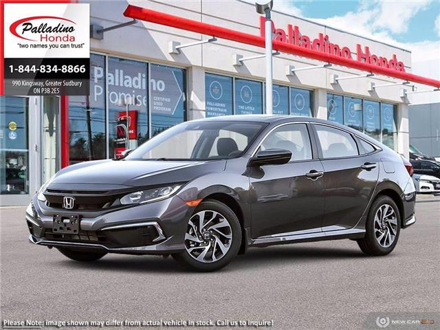 2020 Honda Civic EX (Stk: 22708) in Greater Sudbury - Image 1 of 23