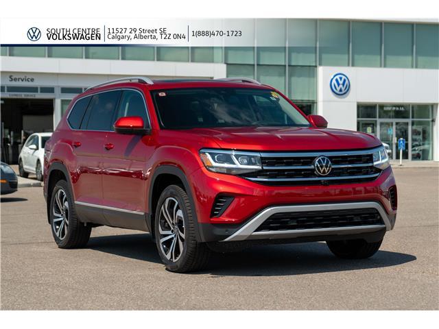 2021 Volkswagen Atlas 3.6 FSI Execline (Stk: 10007) in Calgary - Image 1 of 44