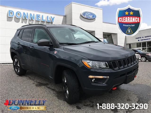 2018 Jeep Compass Trailhawk (Stk: CLDU6560) in Ottawa - Image 1 of 24