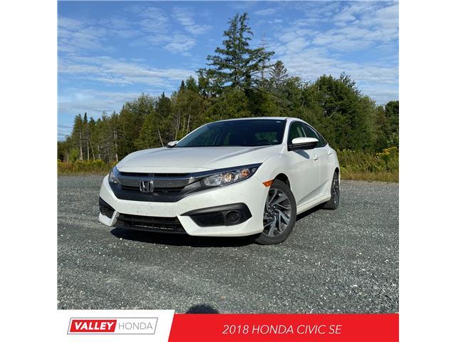 2018 Honda Civic SE (Stk: U5449A) in Woodstock - Image 1 of 8