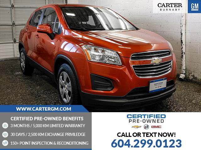 2016 Chevrolet Trax LS (Stk: T6-12971) in Burnaby - Image 1 of 22