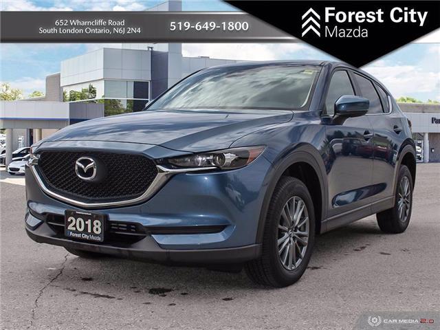 2018 Mazda CX-5 GX (Stk: MW0139) in Sudbury - Image 1 of 13