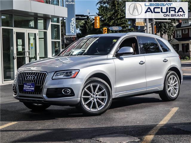 2017 Audi Q5 2.0T Technik (Stk: 20464A) in Burlington - Image 1 of 24