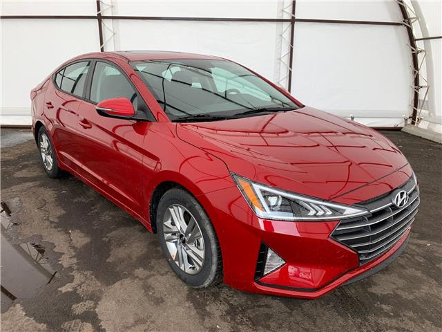 2020 Hyundai Elantra Preferred w/Sun & Safety Package (Stk: 16919) in Thunder Bay - Image 1 of 9