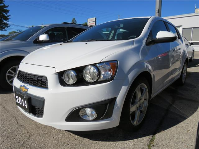 2014 Chevrolet Sonic LT Auto (Stk: 95614X) in St. Thomas - Image 1 of 6
