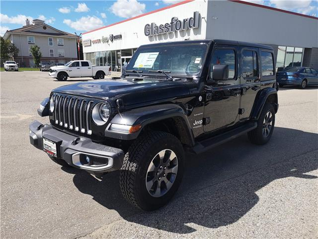 2020 Jeep Wrangler Unlimited Sahara (Stk: 20-169) in Ingersoll - Image 1 of 19
