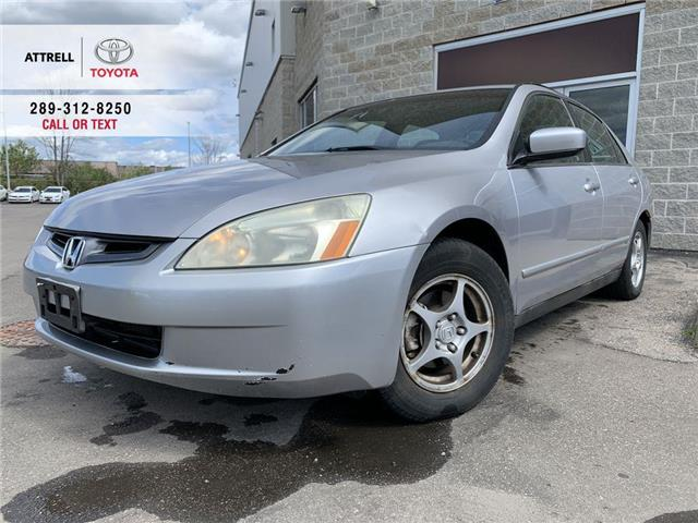 2004 Honda ACCORD SDN LX ALLOY WHEELS, CRUISE, ABS, STEERING WHEEL CONTR (Stk: 47877A) in Brampton - Image 1 of 22