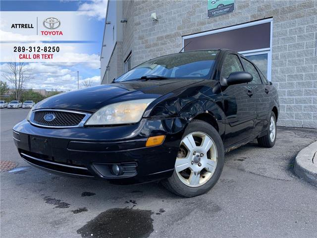 2006 Ford Focus ZX4 ALLOYS, FOG LAMPS, SPOILER, HEATED SEATS, KEYL (Stk: 46966A) in Brampton - Image 1 of 21