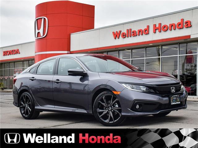2020 Honda Civic Sport (Stk: N20343) in Welland - Image 1 of 25