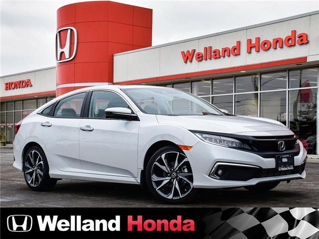 2020 Honda Civic Touring (Stk: N20349) in Welland - Image 1 of 27