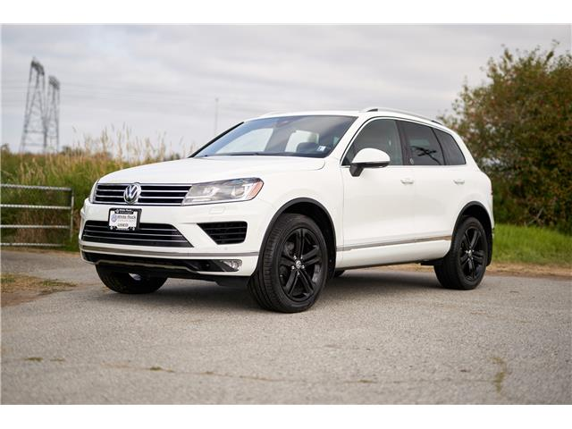 2017 Volkswagen Touareg 3.6L Wolfsburg Edition (Stk: VW1149) in Vancouver - Image 1 of 23