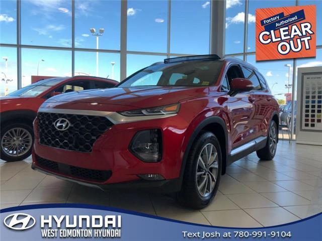 2020 Hyundai Santa Fe Preferred 2.4 w/Sun & Leather Package (Stk: SF05252) in Edmonton - Image 1 of 18